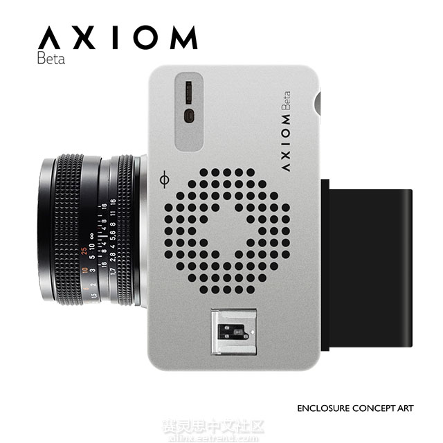 Axiom Beta open-source 4K Cinema Camera Housing Concept